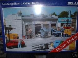 P0664 Werkstatt Anton Blech mit Brekina LKW Spur_H0