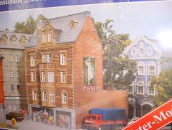 H0 Stadthaus Jugendstil Schweinfurt 180x125x195mm#Lager Baye