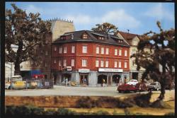 P0184 Eckhaus-Antiquitäten Spur H0 ( 210x155x150mm)