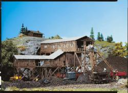 H0 Alte Kohlenmine (lagert in Wassertrüdingen/Bayern) ###