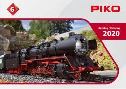 99700 Piko G und Maxi-Katalog 2020  204 Seiten