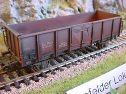 H0 Offener Güterwagen E036 gealtert DB Ep.IV