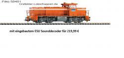 = Diesellok G1206 RAG Ep.V (Sound möglich)[UVP 124.99]