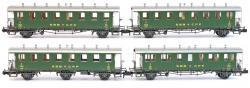 Spur N Oldtimer-Set 5 Wagen B3, C, C3, D3 Ep III[UVP 254.99]