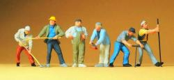Bauarbeiter                                Maßstab 0; 1: