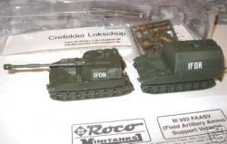 M992 + M109A2 m. IFOR Munitionstransport+Haubitze(Lag.Bayern