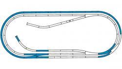 H0 Gleisset D Hand ROCO-LINE