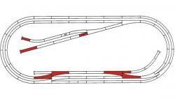H0 Gleisset E Hand ROCO-LINE