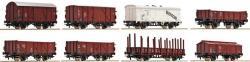 H0 Güterwagenset DB 8 St.                            061.90]
