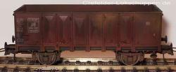 H0 off. Güterwagen 824 748 Ommp 50 DB Ep.III, gealtert