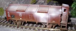 Klappdeckelwagen K 25 DB Betr.Nr.340 412 Ep.3 gealtert 46276