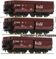 H0 3-er Set Erzwagen DB ErzId Ep III-IV ###NH2016[UVP 74.00]