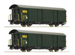 H0 Set 2 Postgüterwagen SBB grün Ep V  NH2016 ### [  079.00]