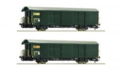 H0 Set 2 Postgüterwagen SBB EpV Schlusslicht##NH2016[094.00]
