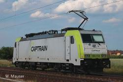 =  E Lok BR186 Captrain        NH2015       [UVP  239.00]