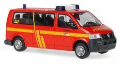 VW T5 Transporter Feuerwehr Krefeld Spur H0