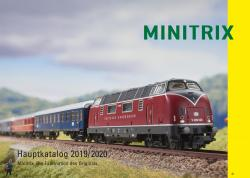 19843 Minitrix- Katalog 2019/2020  DE Spur N  128 Seiten