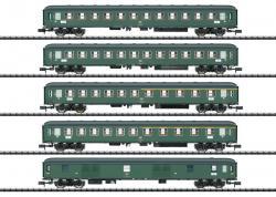 Spur N Schnellzugwagen-Set D 360 DB     NH2019  [UVP 269.99]