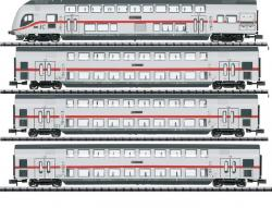 Spur N 4-er Set IC-Doppelstockwagen-Set DB Ep VI MHI2019###