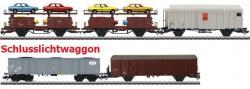H0 Güterwagenset zu Rangierkrokodil 22967 mit Schlusslicht