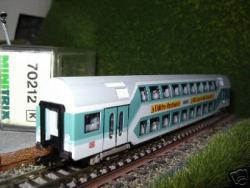 Doppelstockwagen DBAG  Elektro-Handwerke Werbung[44.85]