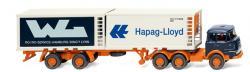 H0 Kühlcontainersattelzug (Krupp 0002549   NH2020-04