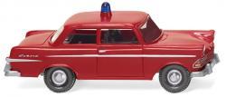H0 Feuerwehr - Opel Rekord '60   0001199   NH2020-04