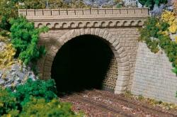 H0 TunnelporTunnelportale zweigleisig