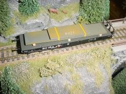 H0 12 schwere Bleche 122x26x6mm