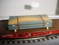 H0 gr. Bleche Länge x Beite 60x25mm gealtert(3x 4 gestapelt)