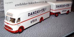 MB Hängerzug DANZAS + CIE  Köln