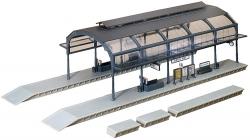 H0 Bahnhofshalle 417x178x122mm Lichtleist180654[UVP   52.99]