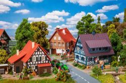 H0 Aktions-Set Weindorf  3 Häuser              [UVP   37.99]