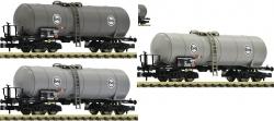Spur N 3-tlg.Set:Kesselwagen Eva #1  NH2021     [UVP 097.90]