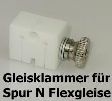 Spur N  Gleisbau-Klammer 2 Stück