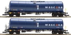 H0 Set 2 Kesselwagen Zacns 98 Wascosa