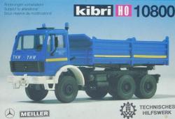 """MB 3-Achs Hinterkipper """"THW""""   [19.90]           Spur_H0"""
