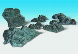 10 Felsstücke (zum einspachteln)(lagert in Bayern)