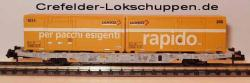Containerwagen Lgnss 4368 443 3 012 m. 2 Cont.Schweizer Post