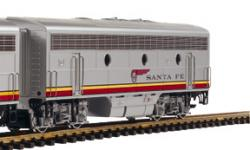 Spur G Diesellok F7 B Santa Fe          NH2020       0075000