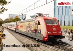 15704 Märklin-Katalog 2019/2020 DE  446 Seiten  [UVP  10.00]