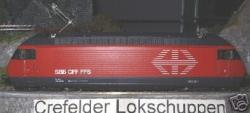 E-LOK RE 460 004-5 SBB rot Uetliberg (lagert in Bayern)
