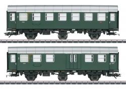 H0 Umbauwagen-Paar 3.Kl.+Gep.DB     SoNH2020    [UVP 115.00]