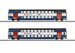 H0 Doppelstockwagen-Set S-Bahn Zürich ### NH2020[UVP 135,00