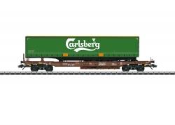 H0 Taschenwagen Carlsberg DK       NHAus20   ###[UVP 69,99