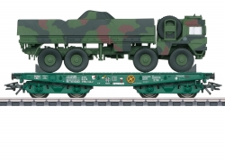 H0 Schwerlastwagen Rlmmps mit MANSo             [UVP 69,99