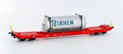 H0 SGKKMS 698 1x Tankcontainer RINNEN     NH2015[UVP  32.90]