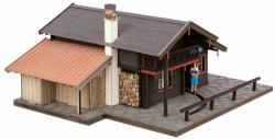 H0 Christl-Hütte mit bewegter Kellnerin micro-mot[UVP 89.99]