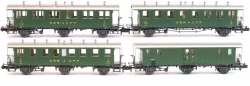Spur N-4 tlg.Personenwagenset SBB Ep III NH2019 [UVP 254.99]