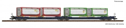 H0 Doppeltwg.T3000e+Tankcontainer FS   NH2021   [UVP 099.90]